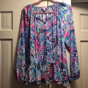 Lilly Pulitzer Tensley Blouse